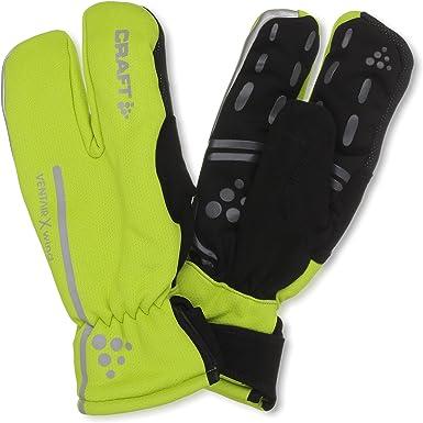 Craft Unisex Siberian Glow Waterproof Reflective Bike/Cycling Gloves | Amazon