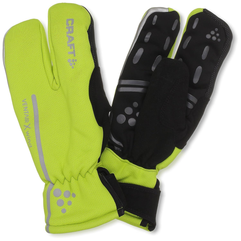 Craft Sibirische 3-Finger Fahrrad-Handschuhe, wind- und wasserdicht