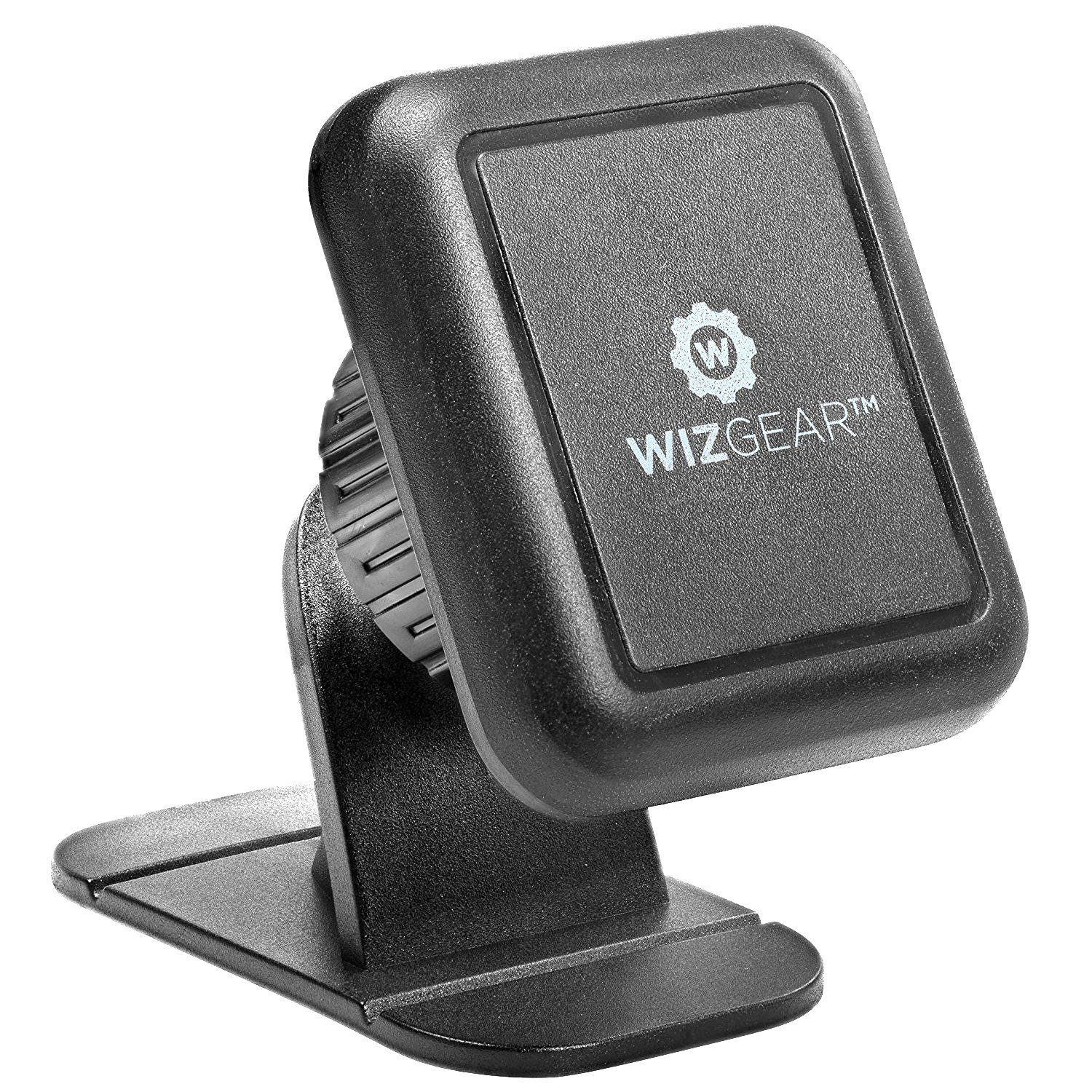 WizGear Magnetic Phone Mount, Universal Stick On Dashboard Magnetic Car Mount Holder, for Cell Phones with Fast Swift-snap Technology