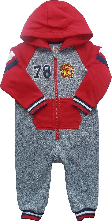 Con capucha con texto de pijama chupete del Manchester ...
