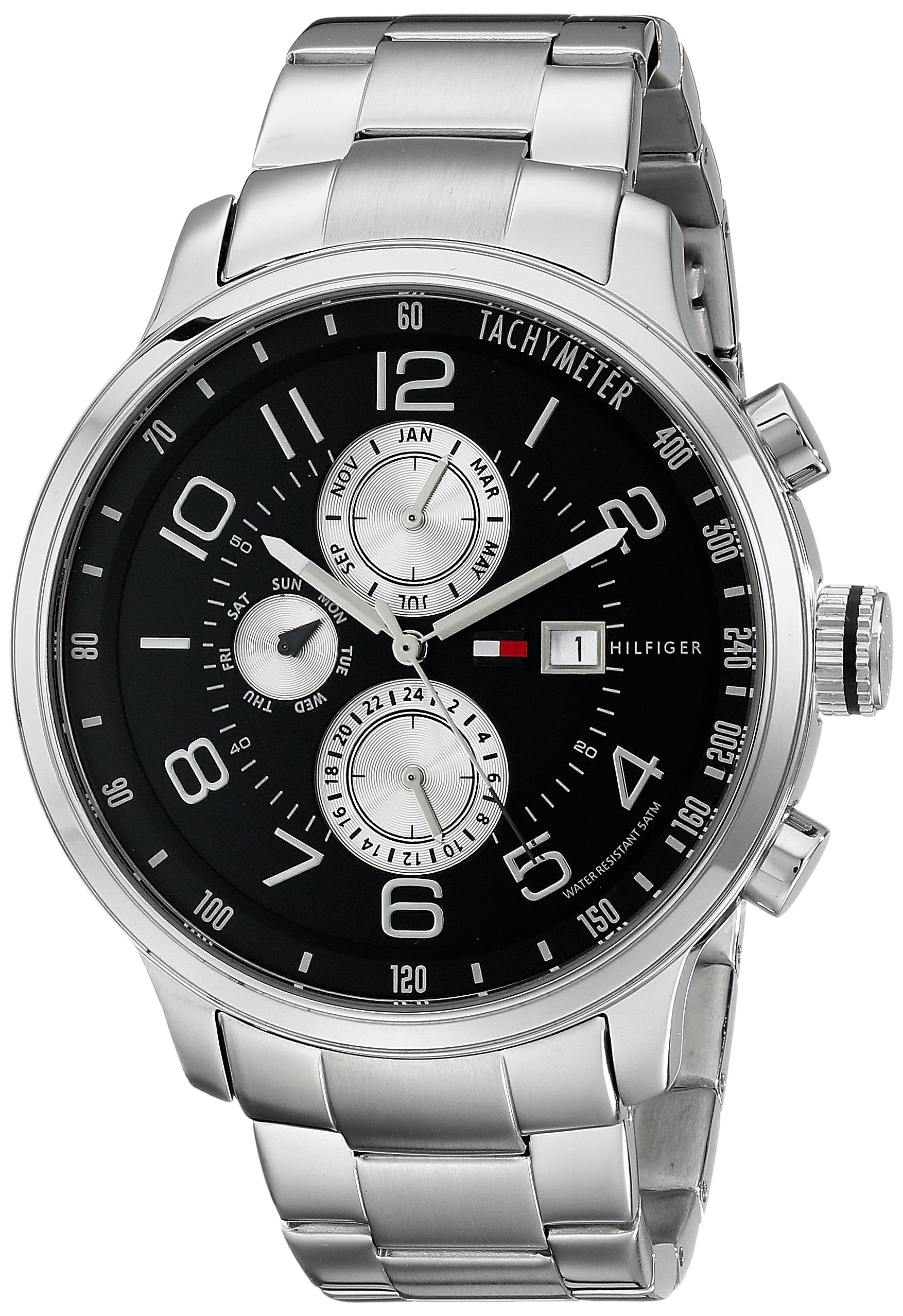 Tommy Hilfiger Men's 1790860 Stainless Steel Watch With Link Bracelet 6