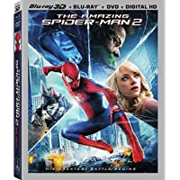 The Amazing Spider-Man 2 [Blu-ray 3D + Blu-ray + DVD] (Bilingual)