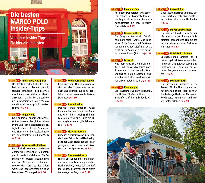 MARCO POLO Reiseführer Heidelberg: Reisen mit Insider Tipps. Mit ...