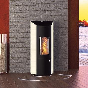Olsberg O431489 Levana pellet estufa de acero/Caffe Freddo: Amazon.es: Bricolaje y herramientas