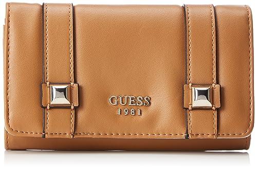 Slg Wallet, Womens Brown (Tan), 3x10x17 cm (W x H L) Guess