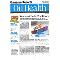 1-Year Consumer Reports On Health Magazine Subscription