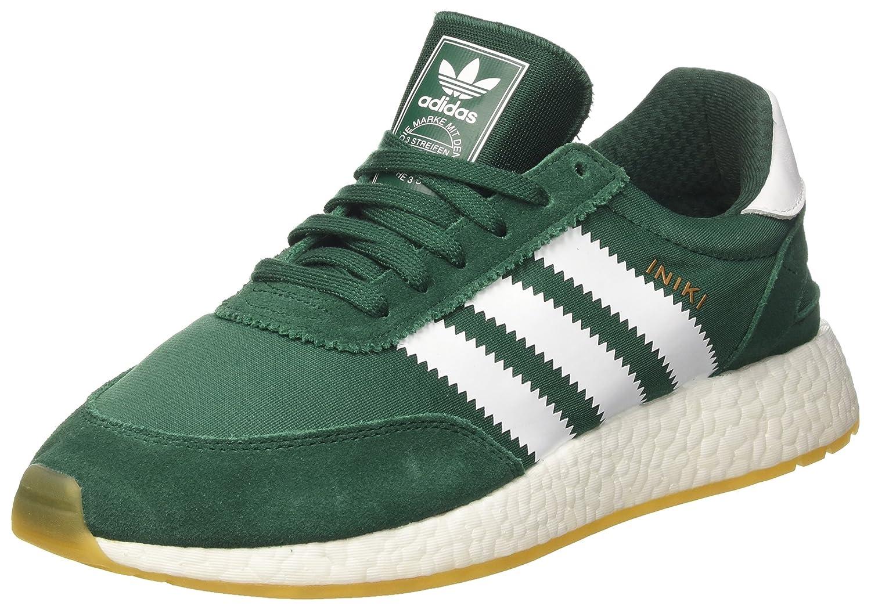 adidas Herren Iniki Runner Sneakers  41 1/3 EU|Schwarz (Core Black/Ftwr White/Gum 3)