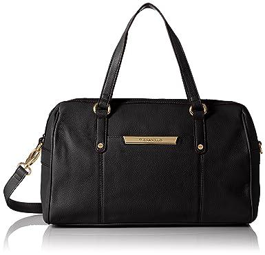 235017b249e Tignanello Main Street Satchel Shoulder Bag, Black, One Size ...