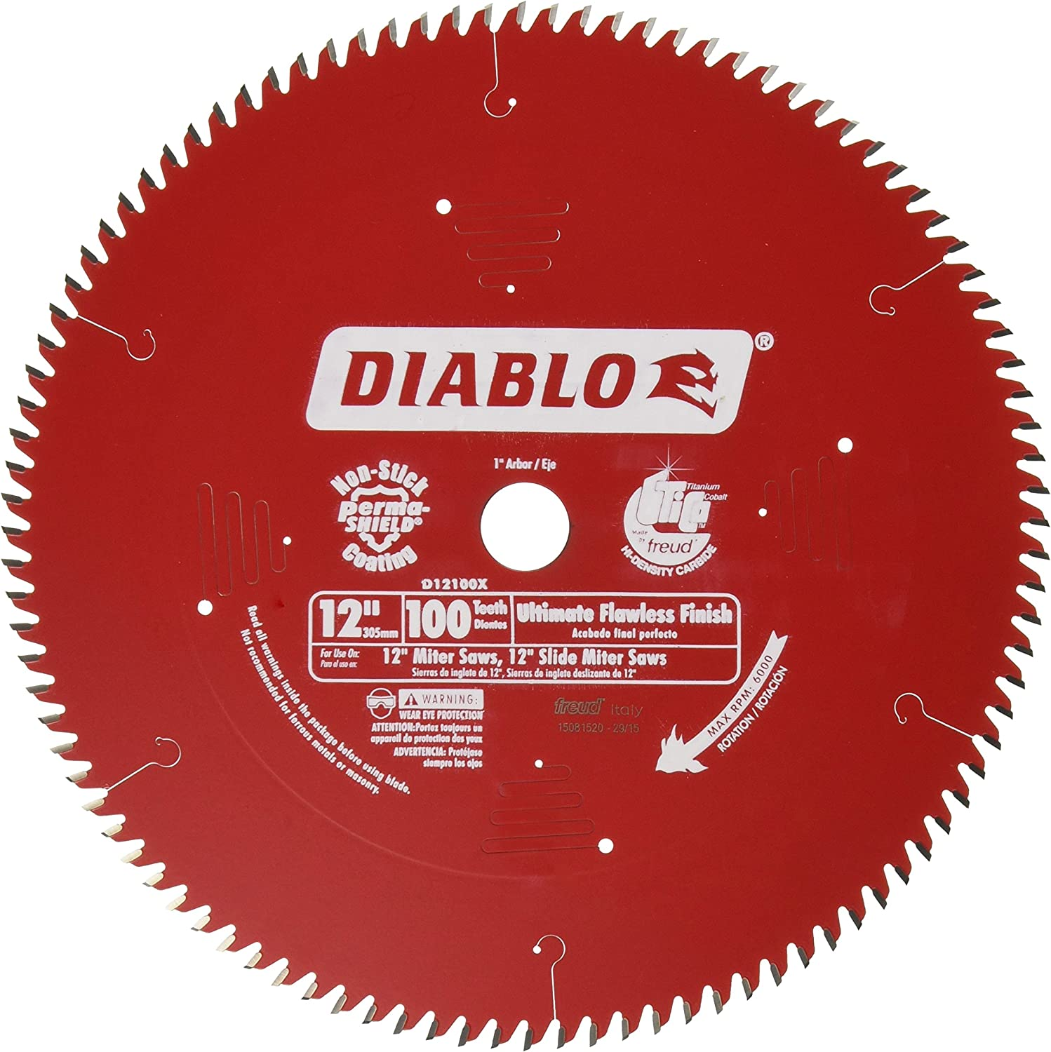 Freud D12100X 100 Tooth Diablo Ultra Blade