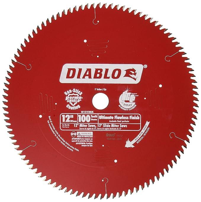 Freud D12100X 100 Tooth Diablo Ultra - Fine Circular Saw Blade