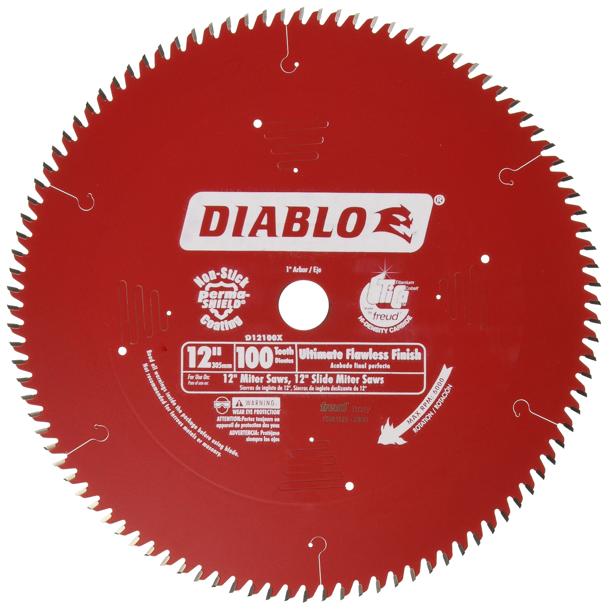 Best rated in circular saw blades helpful customer reviews freud d12100x 100 tooth diablo ultra fine circular saw blade for wood and wood composites greentooth Gallery
