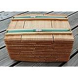 40cm-8 Breitenmeter Gr/ö/ße Menge w/ählbar Holzschindeln aus L/ärche L/ärchenschindeln