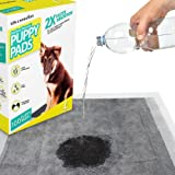 K9KONNECTION Black Carbon Puppy Pee Pads & Pet Training - 100 Count Box - 23 x 24 inches - Quick Drying Gel with No Odor and Leak Proof Design. Large Pee Pads for Potty Training Dogs, Absorbent Pads