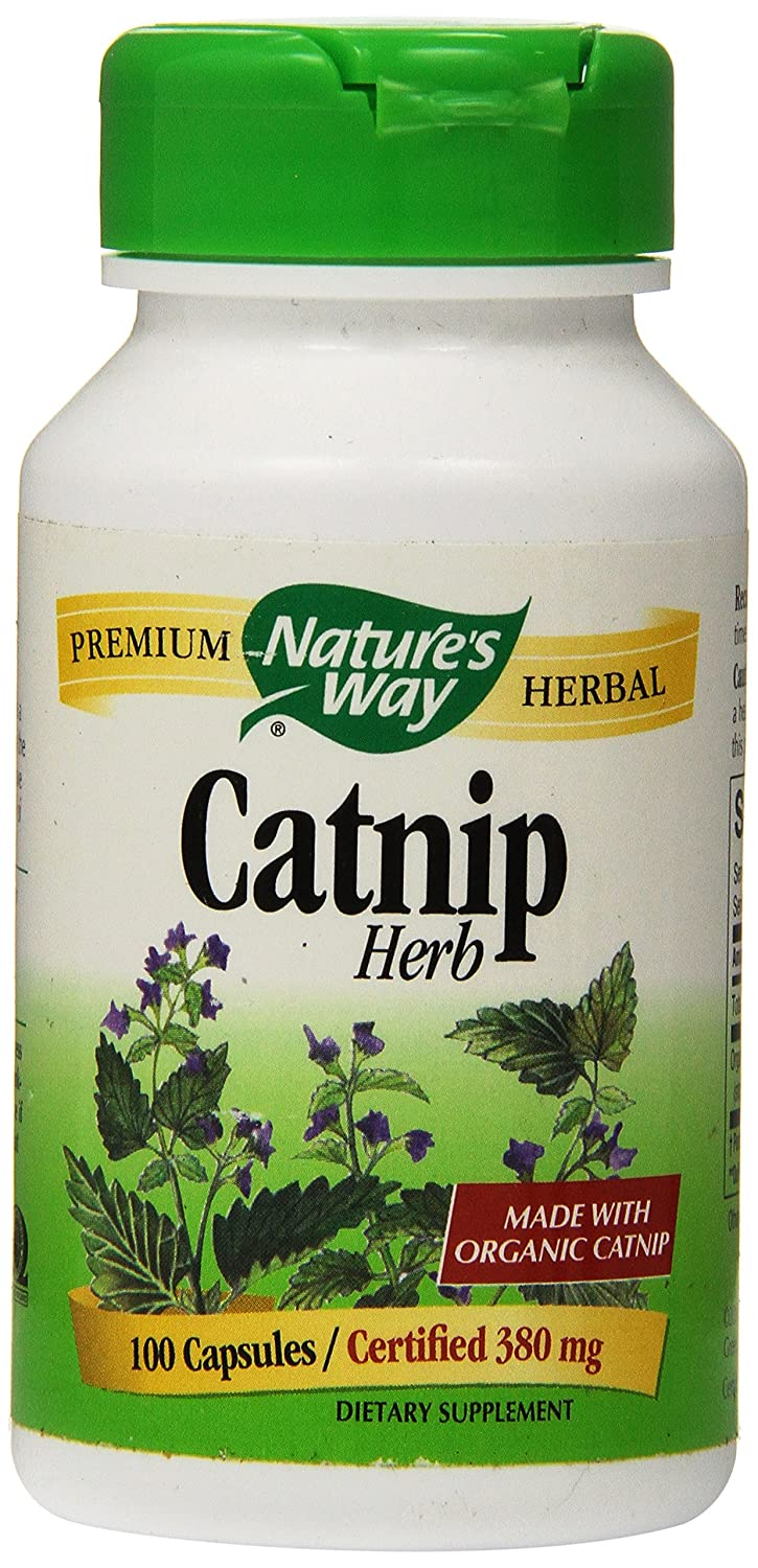 Cheap herbal supplement - Amazon Com Nature S Way Organic Catnip Herb Capsules 100 Count Health Personal Care