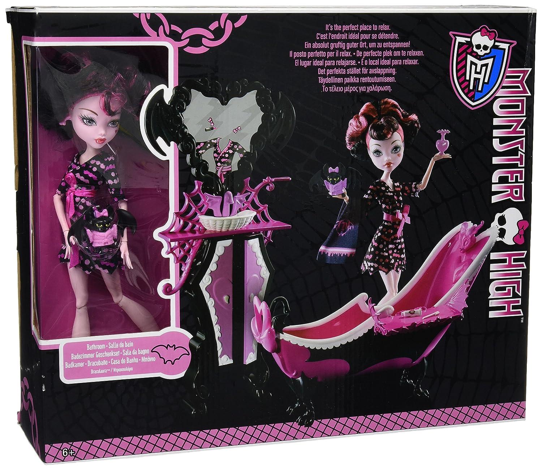 Meuble Salle De Bain Cooke Et Lewis Calao ~ monster high exclusive draculaura doll powder room set amazon co
