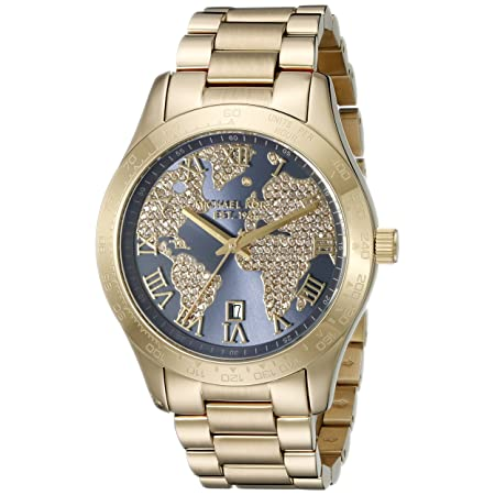 Michael Kors Women's Layton Gold-Tone Watch MK6243