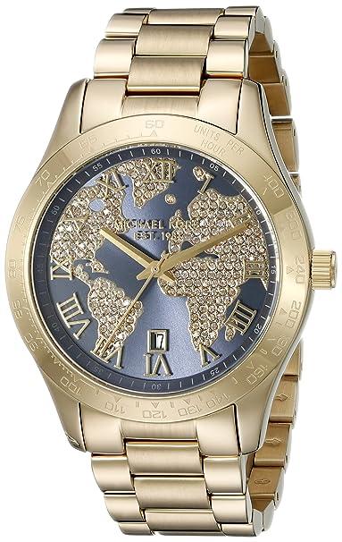 Michael Kors Reloj Analógico para Mujer de Cuarzo con Correa en Acero Inoxidable MK6243: Michael Kors: Amazon.es: Relojes