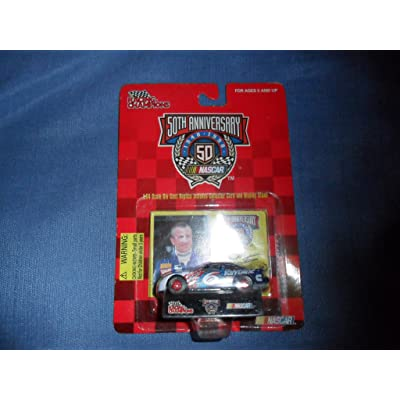 Mark Martin 1998 Racing Champions 50th Anniversary #6 Valvoline Ford Taurus 1/64 Diecast . . . Includes Collector Card and Display Stand: Toys & Games
