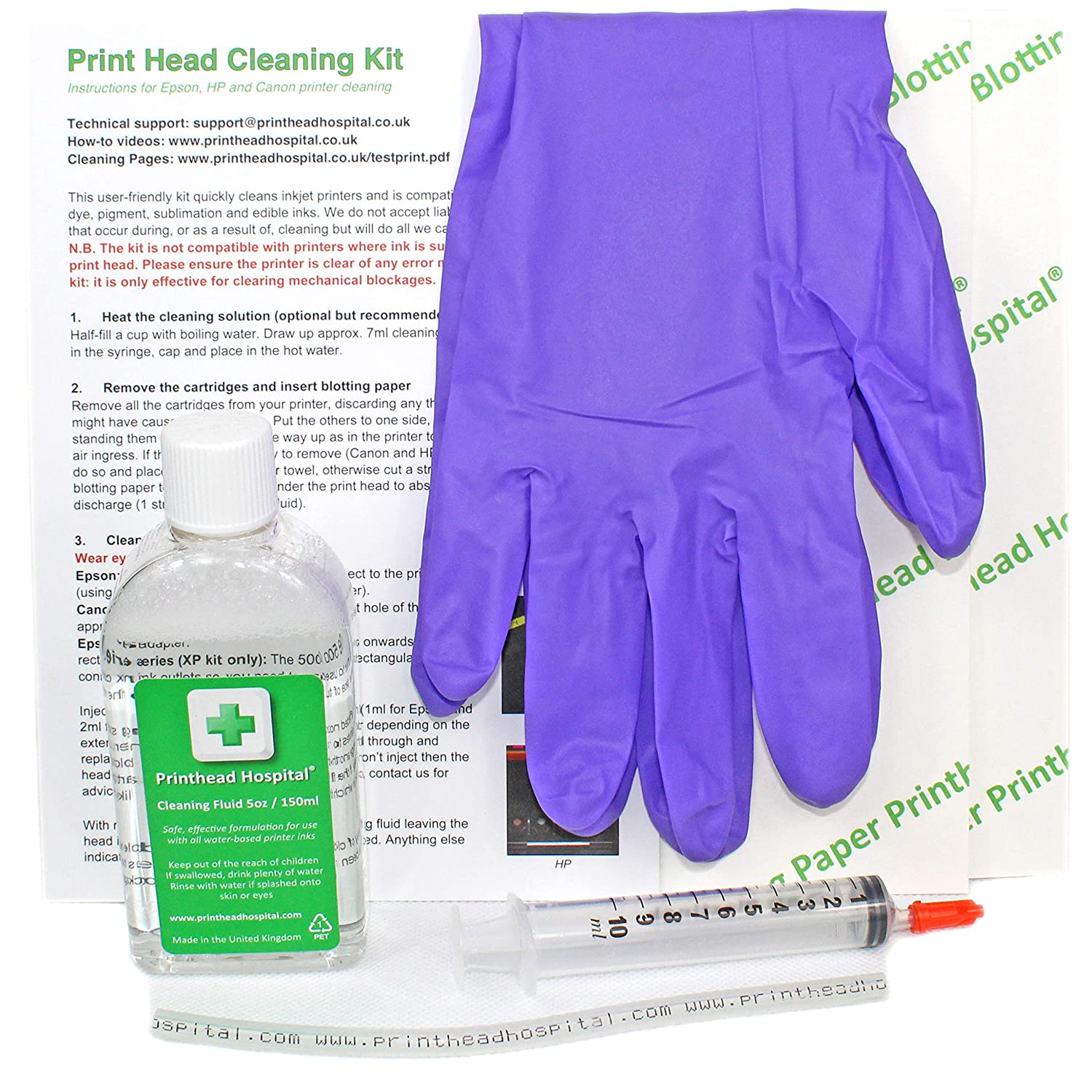 New Print Head Cleaning Kit for Epson Canon Printers