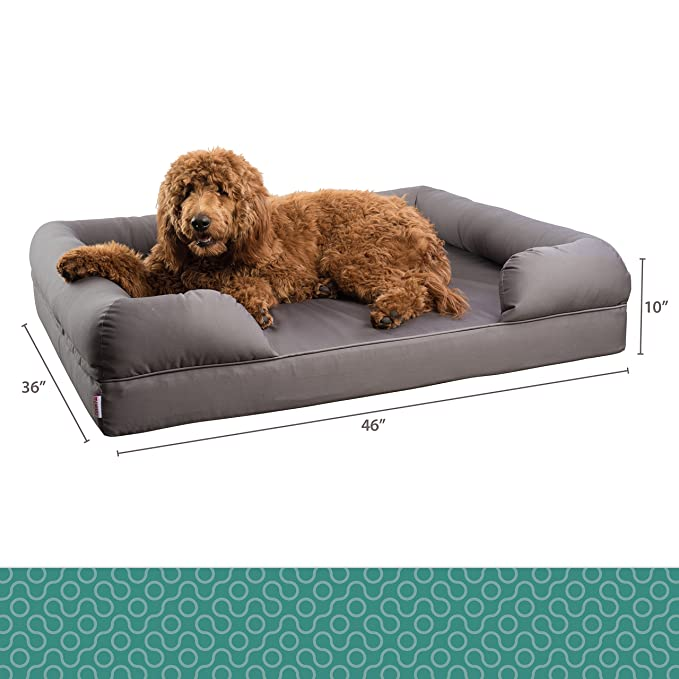 Amazon.com: Sofá cama ortopédico para mascotas de Petlo ...