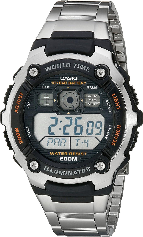 Casio AE2000WD 1AV – Montre de Poignet pour Homme: Casio  aFr4z