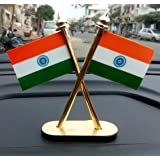 The Narayan Enterprises Indian National Flag For Car Dashboard