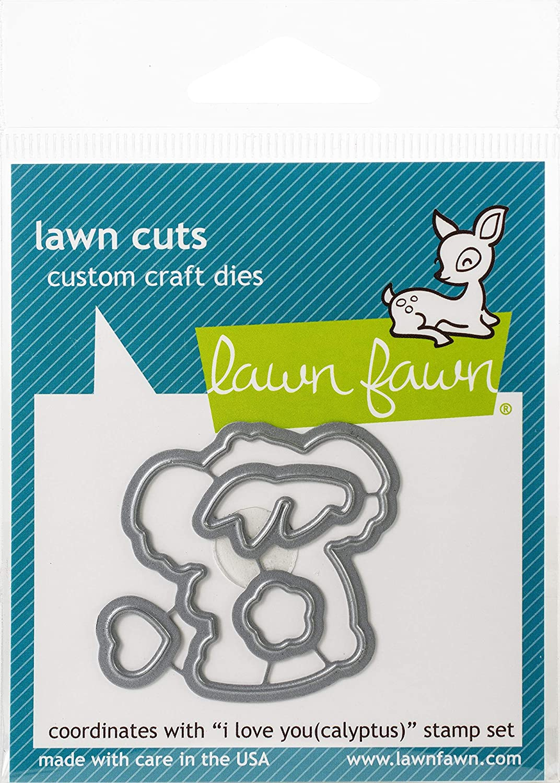 Lawn Cuts Custom Craft Die-i Love You(calyptus)