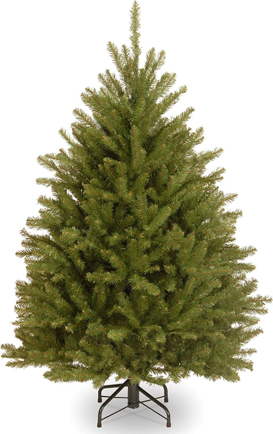 National Tree Company Artificial Christmas Tree | Includes Stand | Dunhill Fir - 4 ft