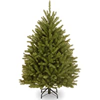 National Tree Company Artificial Christmas Tree   Includes Stand   Dunhill Fir - 4 ft