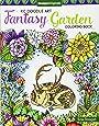 KC Doodle Art Fantasy Garden Coloring Book