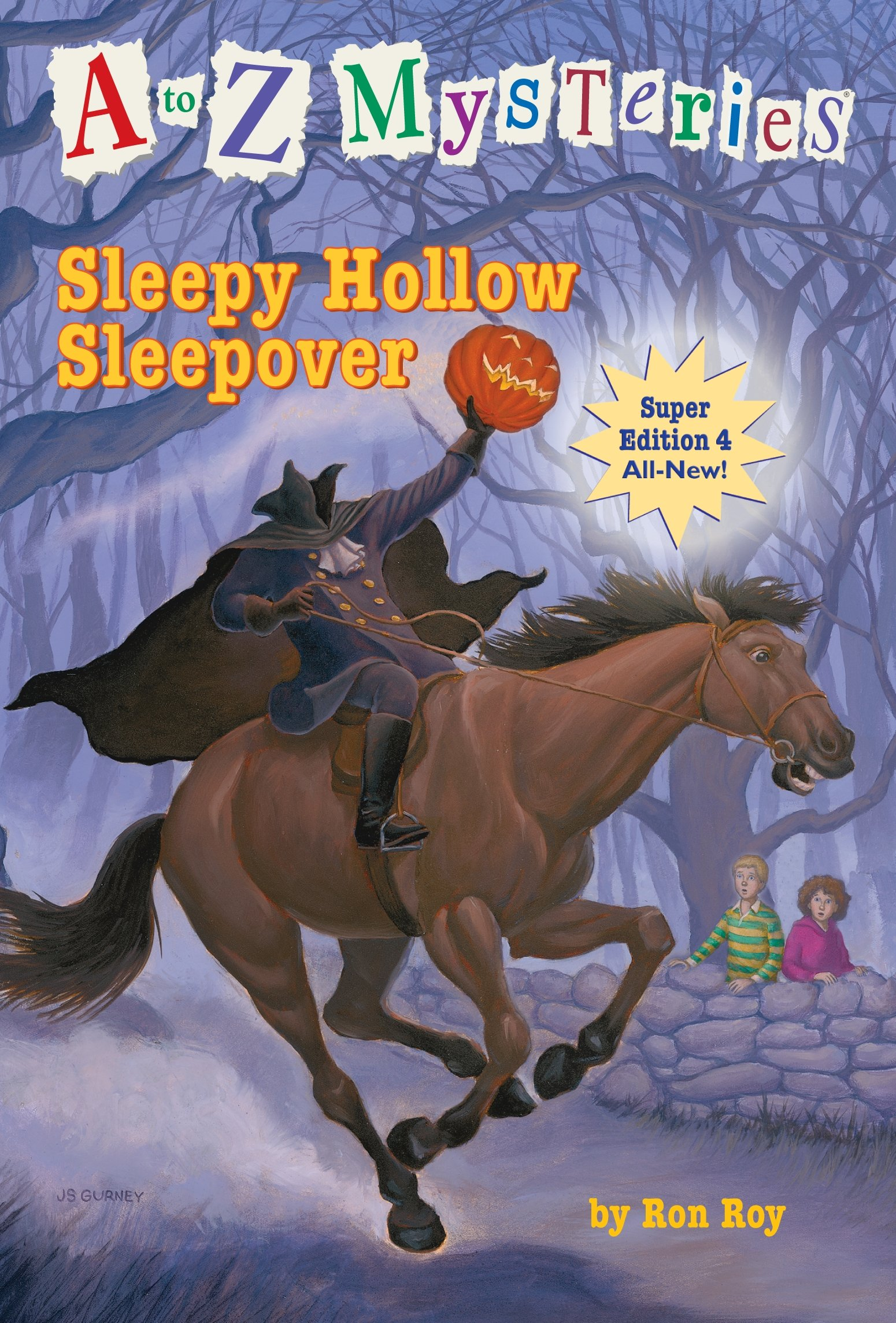 A to Z Mysteries Super Edition #4: Sleepy Hollow Sleepover: 04: Amazon.es: Roy, Ron, Gurney, John Steven: Libros en idiomas extranjeros