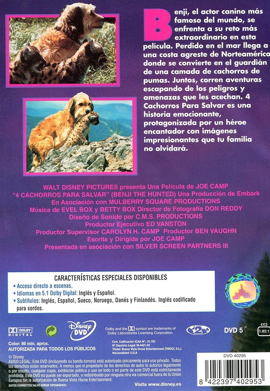 4 Cachorros Para Salvar [DVD]: Amazon.es: Mike Francis, Frank Inn, Nancy Francis, Red Steagall, Varios, Joe Camp: Cine y Series TV