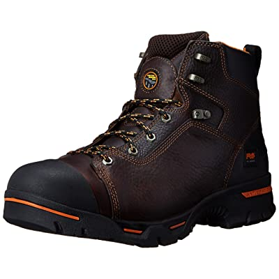 """Timberland PRO Men's Endurance 6"""" Soft-Toe BR Work Boot: Shoes"""