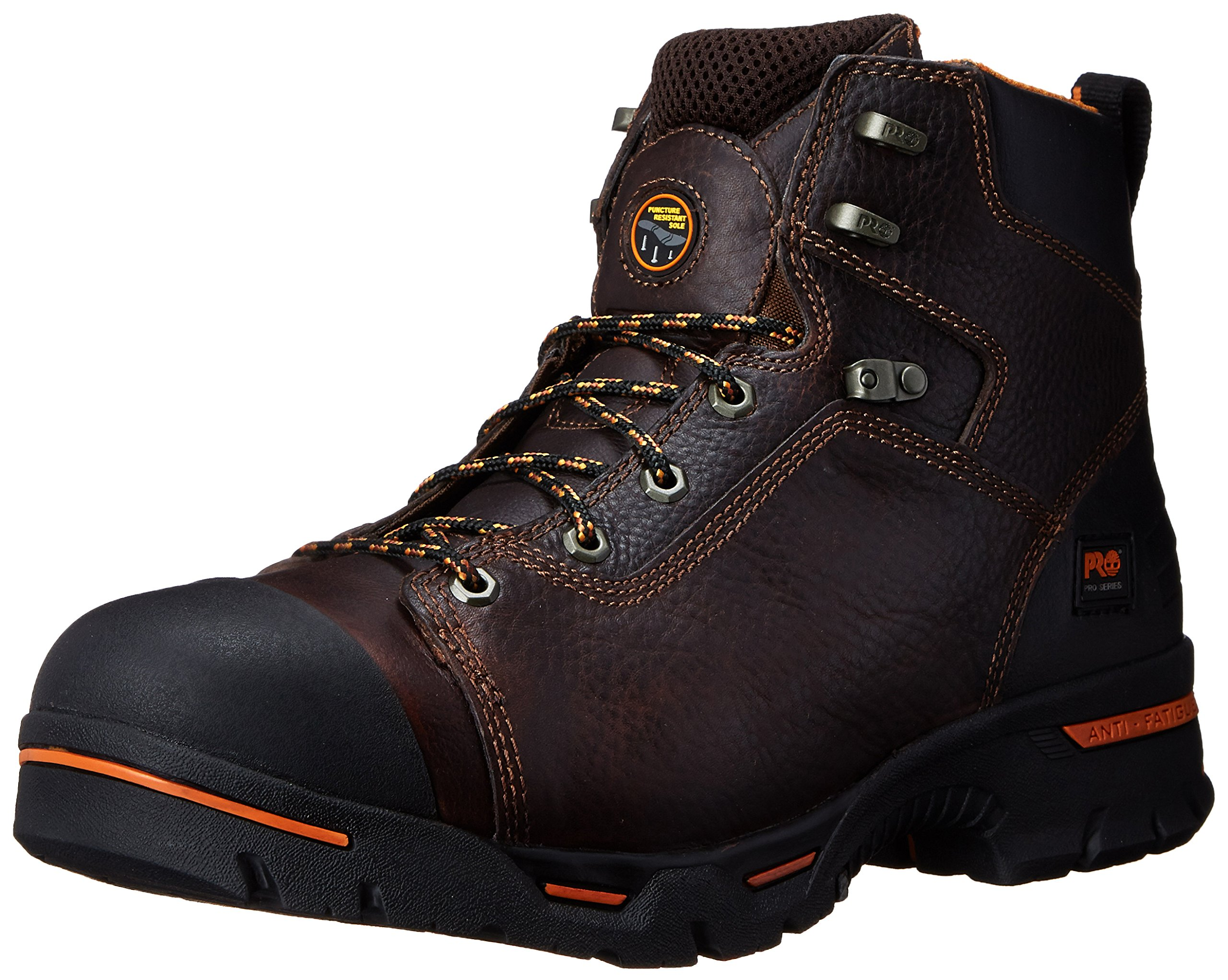 Timberland PRO Men's Endurance 6-Inch Soft Toe BR Work Boot,Briar,11.5 W US
