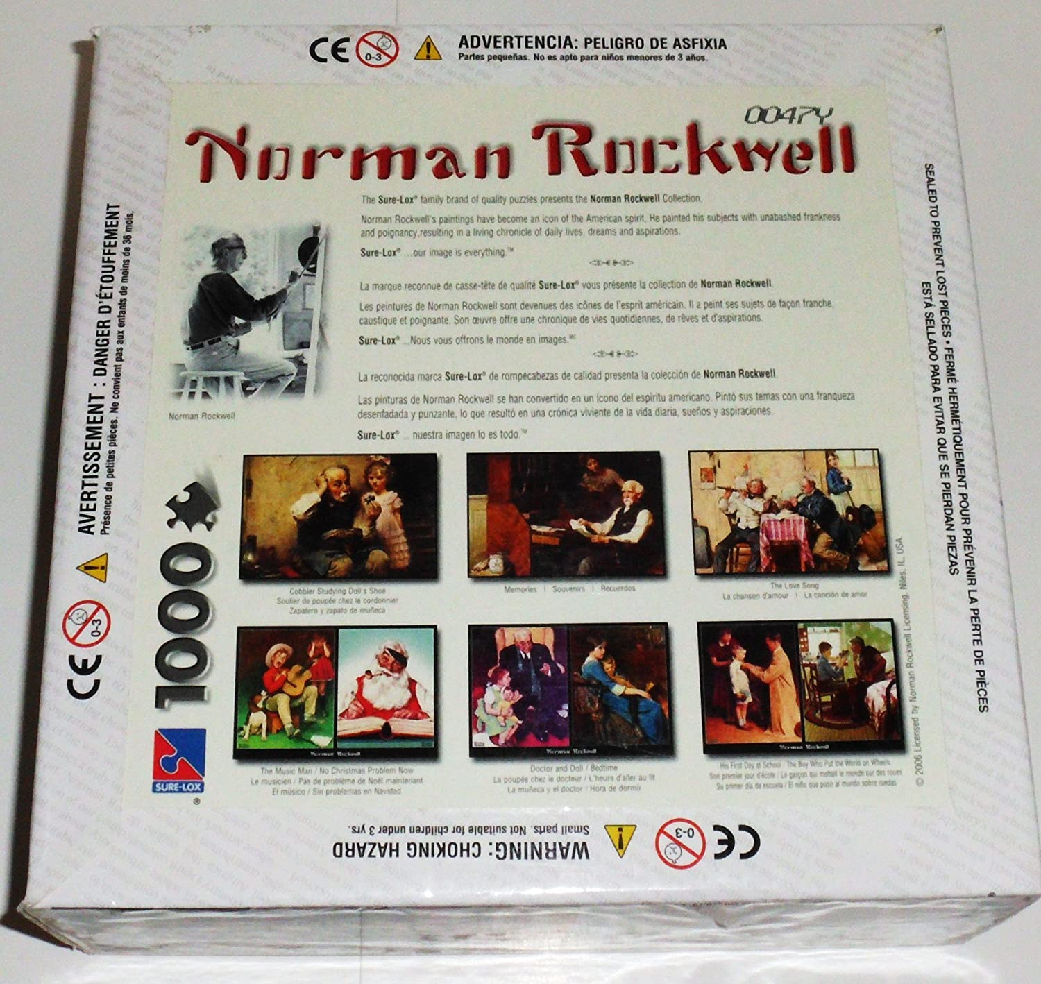 Norman Rockwell Memories 1000 Piece Puzzle The Canadian Group