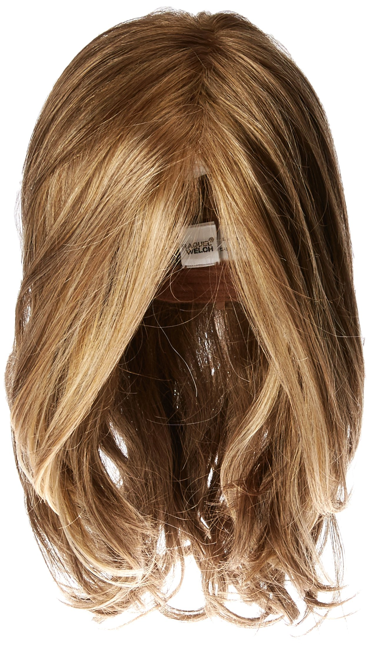 Hairdo Love Love Love Long Full Length Straight Hair With Soft Natural Wave Highlights, R13F25 Praline Foil by Hairuwear by Hair u wear