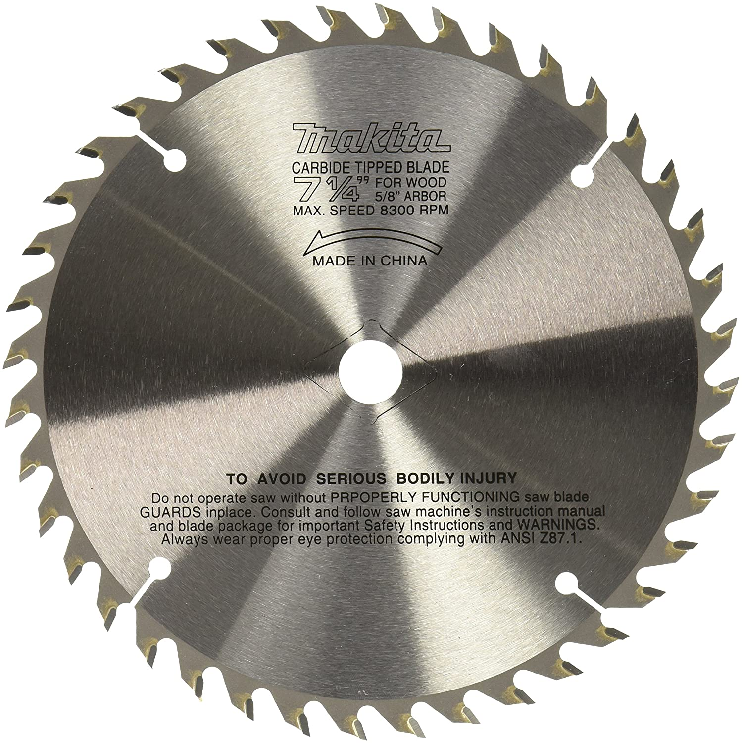 Makita 721251 a 7 14 inch 40t carbide blade circular saw blades makita 721251 a 7 14 inch 40t carbide blade circular saw blades amazon greentooth Gallery