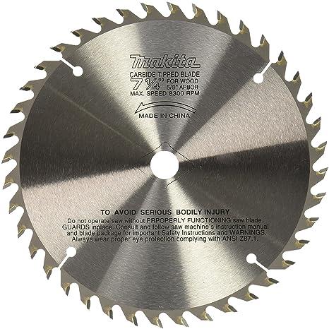 Makita 721251 a 7 14 inch 40t carbide blade circular saw blades makita 721251 a 7 14 inch 40t carbide blade greentooth Gallery