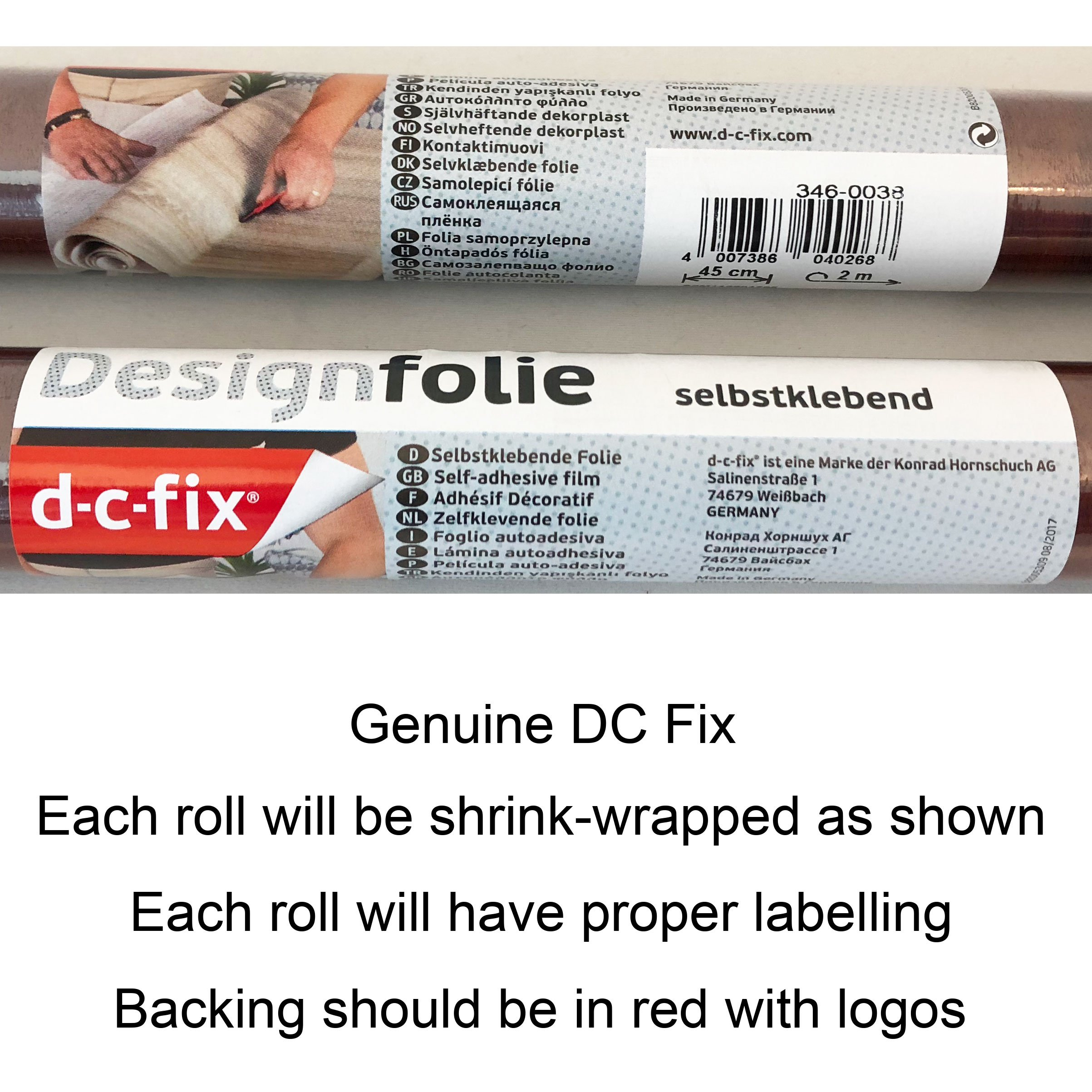 DC Fix Geometrics 3460116 Window Film (4 Rolls)