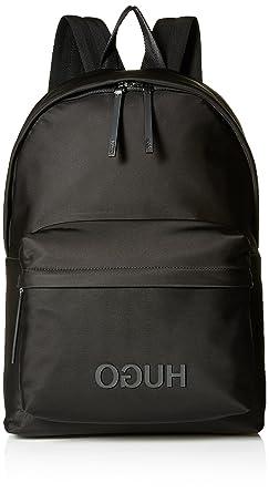 964170ea25 HUGO by Hugo Boss Men's Fashion, Record Nylon Backpack Black, One Size