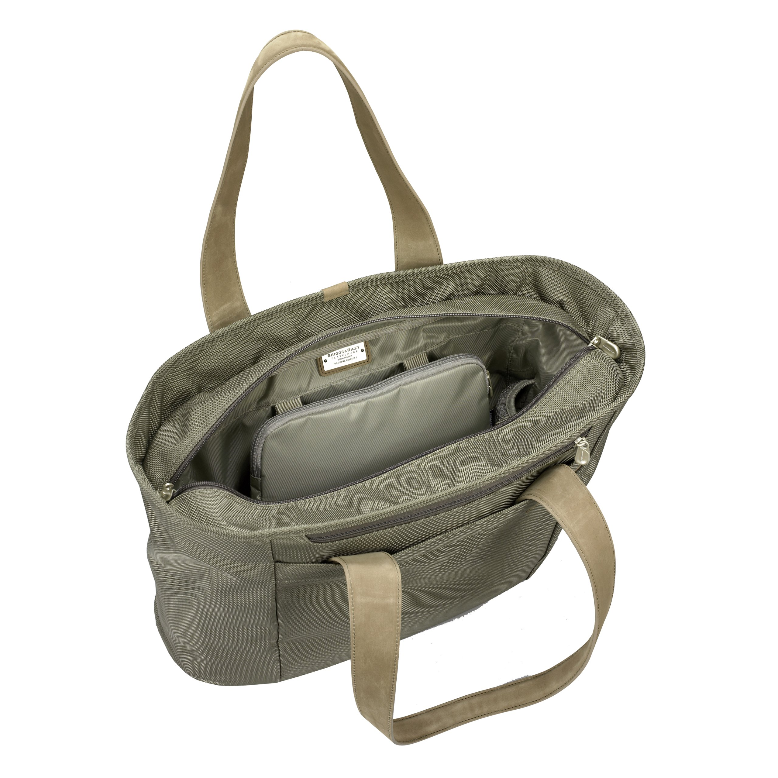 Briggs & Riley Baseline Large Shopping Tote,Olive,13x17x7.3 by Briggs & Riley (Image #3)