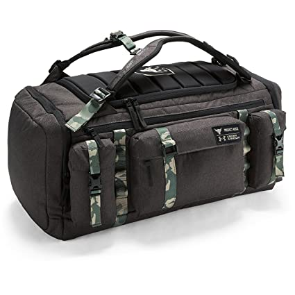 Amazon.com: UA x Project Rock USDNA Cordura Range Duffle Bag ...