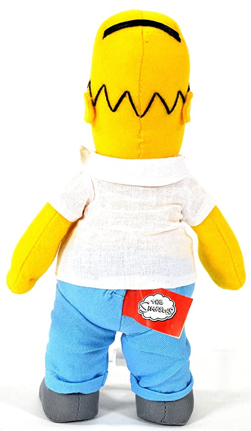 United Labels 1000182 Los Simpson - Peluche de Homer (26 cm): Amazon.es: Juguetes y juegos