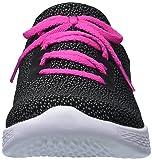 Skechers Kids Girls' You-Inspire Sneaker,black/hot
