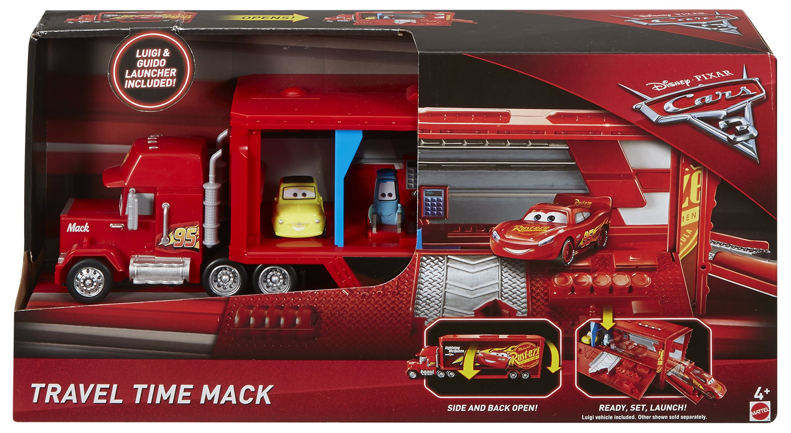 Disney Pixar Cars 3 Travel Time Mack Playset by Disney (Image #8)