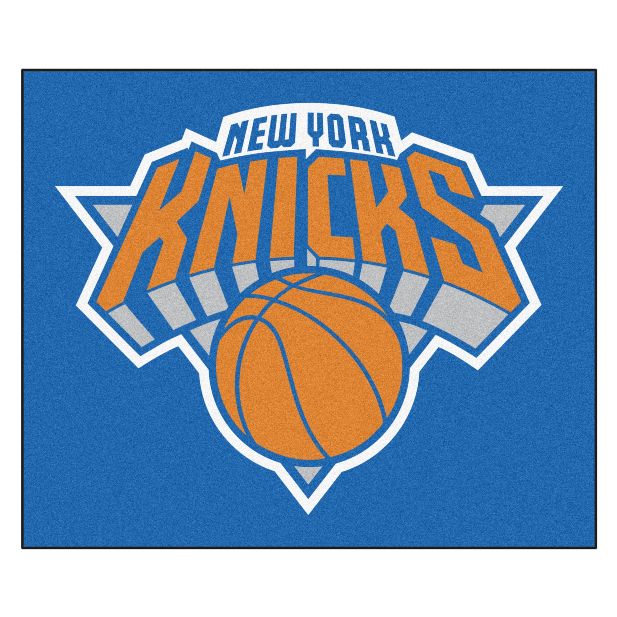 FANMATS 19462 NBA - New York Knicks Tailgater Rug , Team Color, 59.5''x71''