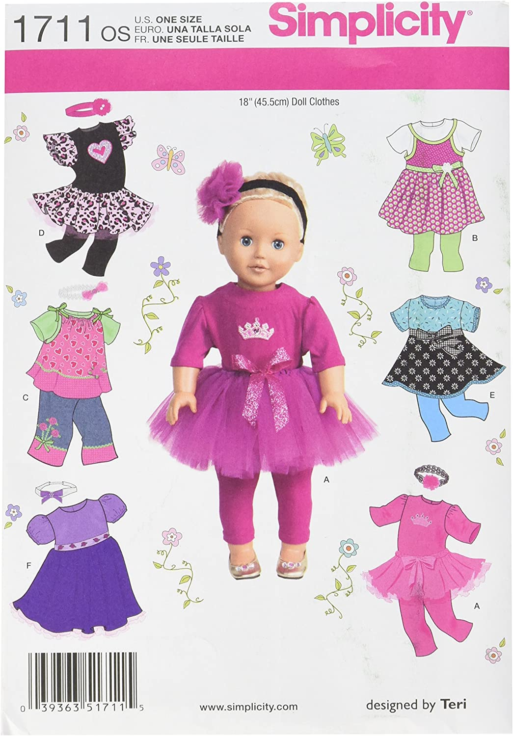 This is a graphic of Free Printable Crochet Doll Clothes Patterns for 18 Inch Dolls pertaining to crochet mini hat
