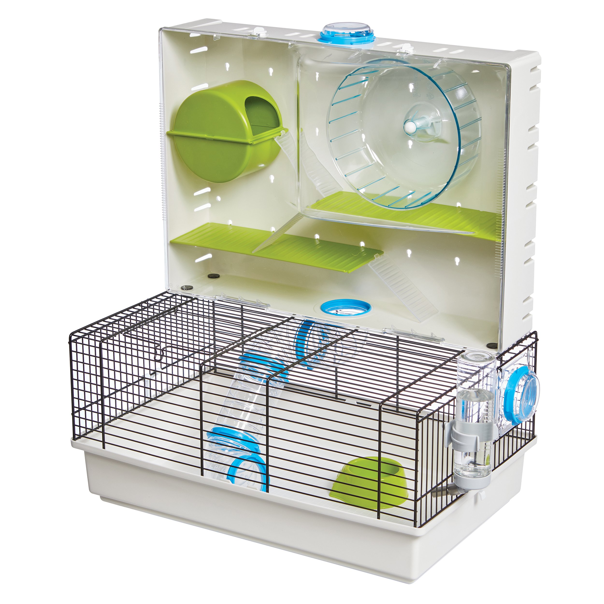 Hamster Cage | Awesome Arcade Hamster Home | 18.11 x 11.61 x 21.26 Inch by MidWest Homes for Pets