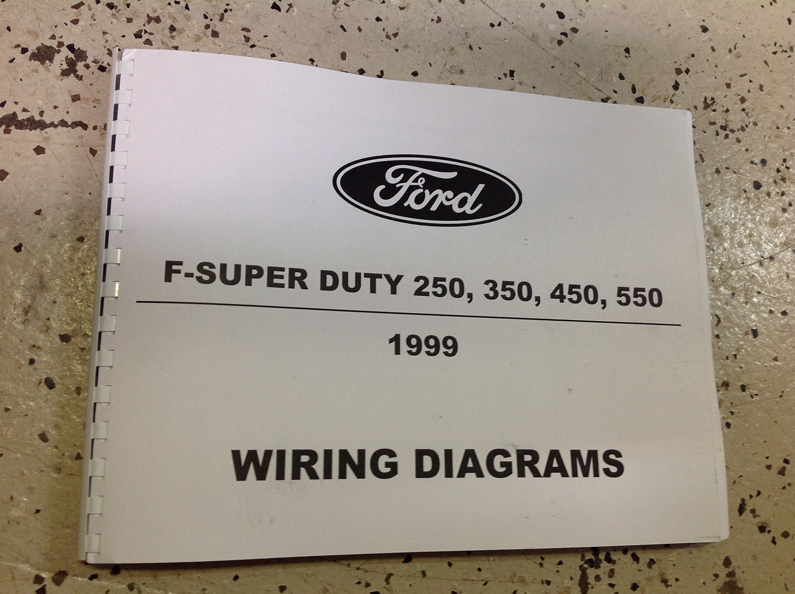 1999 Ford F SERIES F250 F-250 F350 Duty Truck Electrical Wiring Diagram  Manual: FORD: Amazon.com: Books