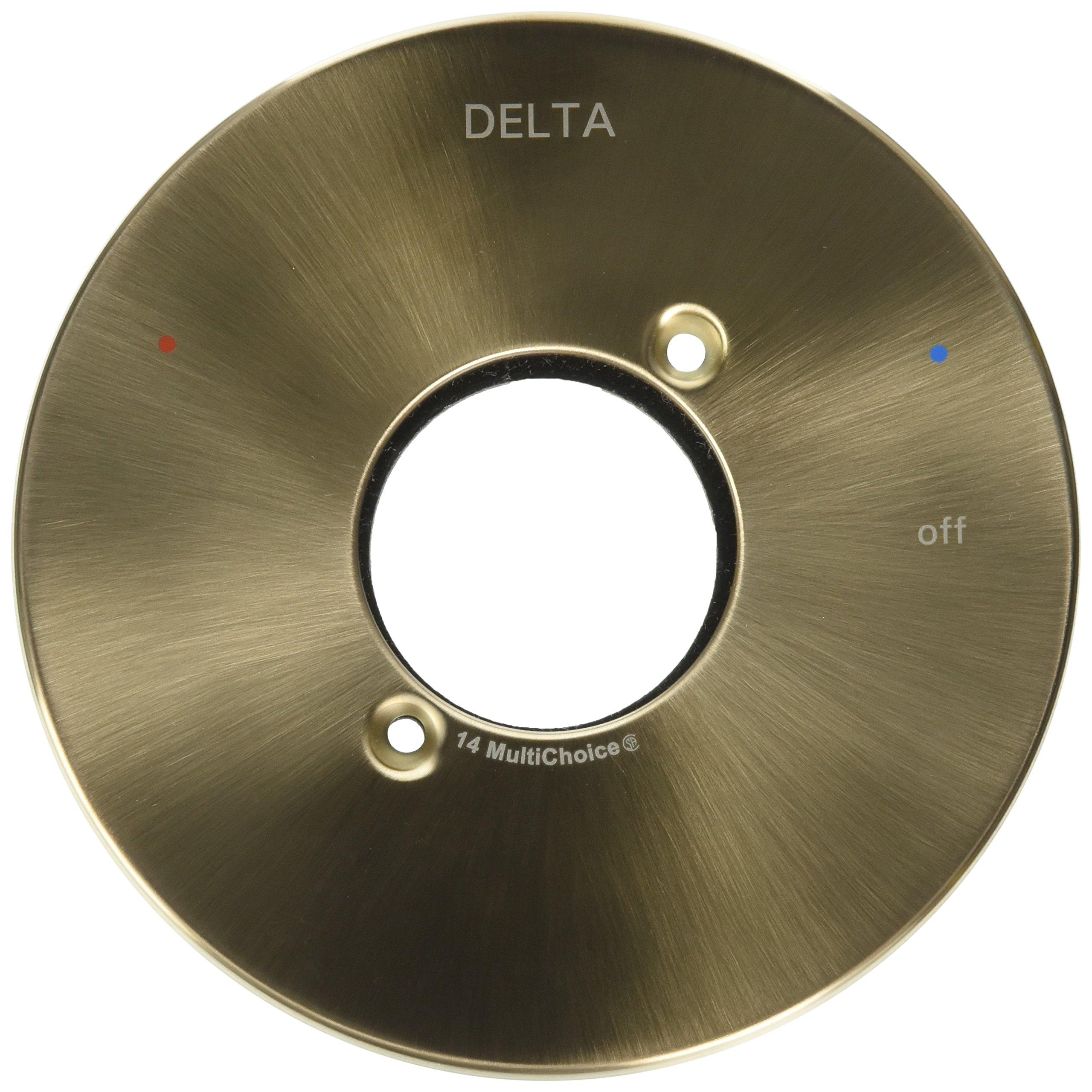Delta Faucet RP73373CZ Trinsic, Escutcheon/Seal-14 Series Shower, Champagne Bronze